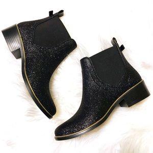 New Kate Spade Sedgewick Glitter Rain Boots 🖤
